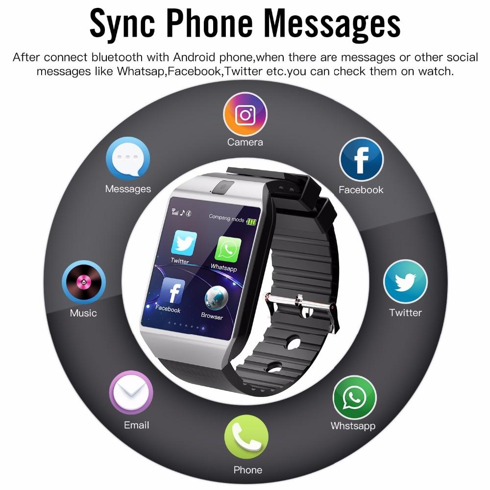 ... Cawono Bluetooth Smart Watch DZ09 Relojes Smartwatch Relogios TF SIM  Camera for IOS iPhone Samsung Huawei ... f0982147adf3